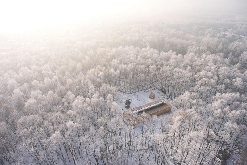 Zimowa sesja tężni solankowej w Katowicach